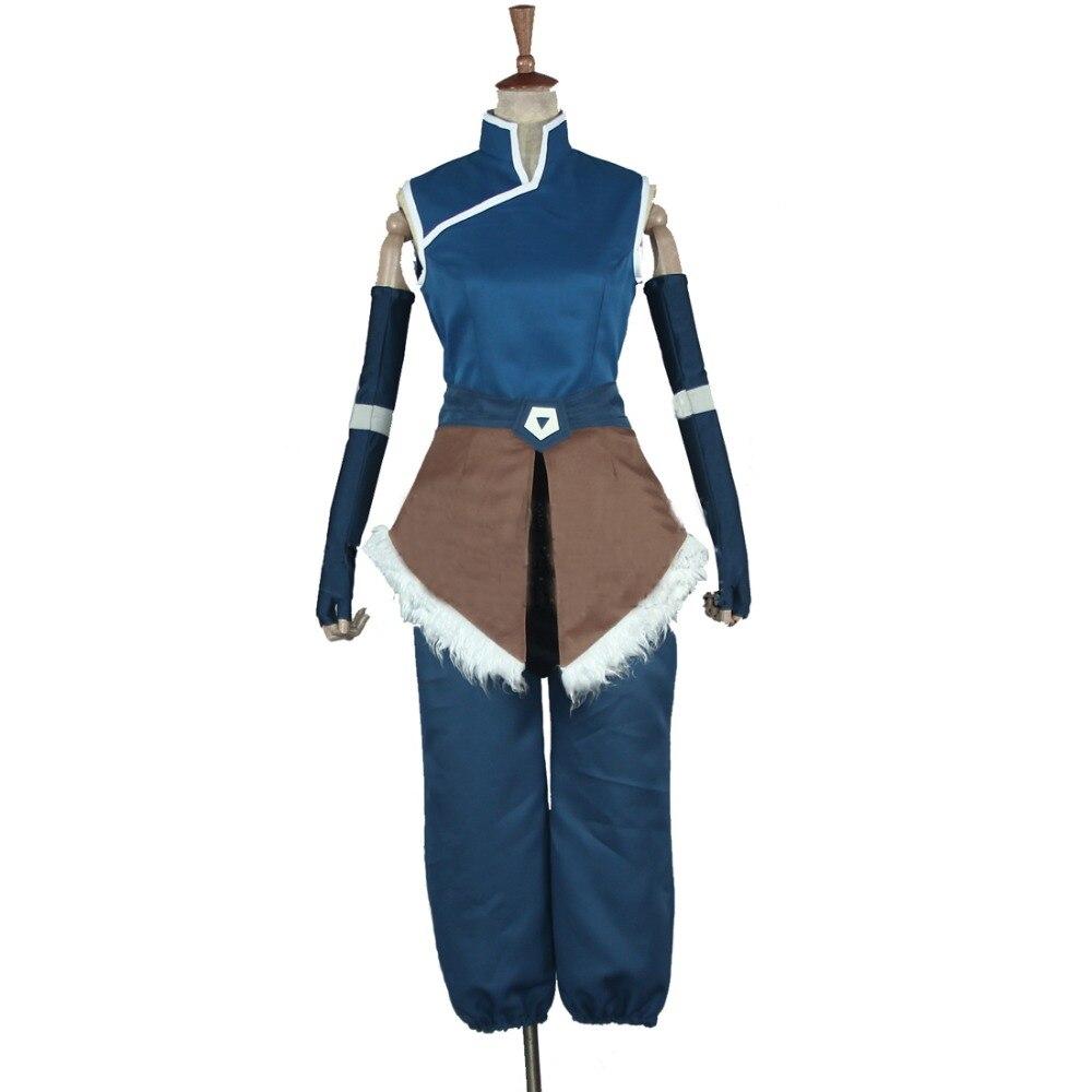 2018 Anime Avatar The Legend of Korra Korra Cosplay Kostuum Halloween - Carnavalskostuums