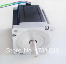 2pcs/lot Nema 34 stepper motor 86 mm 8.2N.m (1139oz-in) body length 114 cnc motors CE ROHS