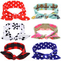 Infant Cotton Headbands Baby Bow Hairband Newborn Girl Knotted Bow Head Wrap Summer Photographic Baby Headband Bebes Accessories