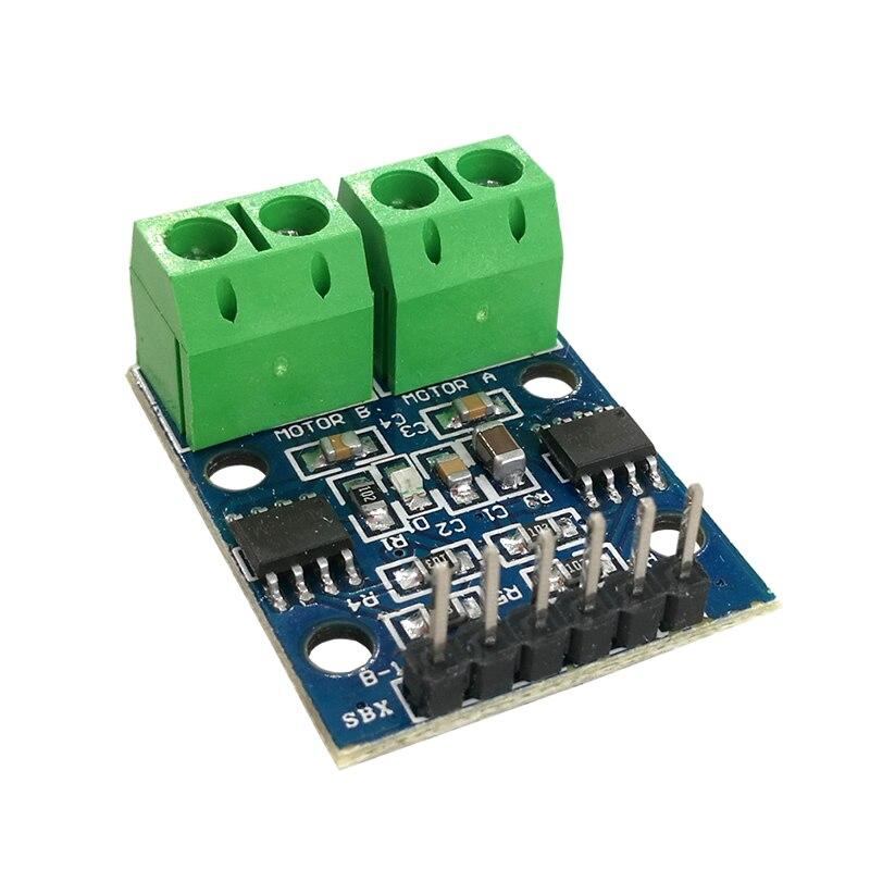 MCIGICM 新 N L9110S モジュールデュアル Dc モータドライバコントローラボード H ブリッジステッピングモータドライバボードモジュール  グループ上の 電子部品 & 用品 からの 集積回路 の中 3
