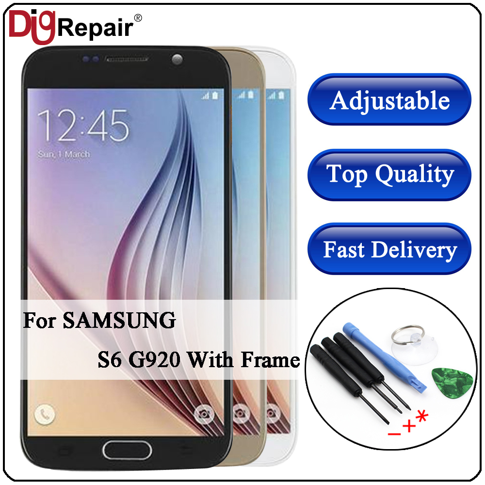 DigRepair For SAMSUNG GALAXY S6 G920 G920F LCD Display Touch Screen Digitizer