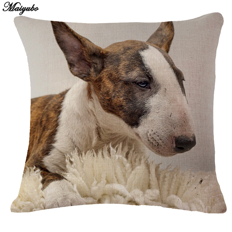 Maiyubo Decorative 3D Cushion Covers Animals Designs Digital Printing Throw Pillow Cover for Couch Sofa Cheap Pillow Decor PC292
