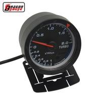 Dragon gauge 60mm Auto Car turbo pressure gauge Boost gauge Turbin meter Colorful luminous kpa Trubin