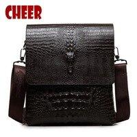 Male Crocodile Logo Shoulder A Bag Men S Bags For Men Messenger Bags Luxury Designer Handbags