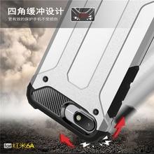 sFor Case Xiaomi Redmi 6A Cover Armor Rubber Plastic Hard Back Phone For 6 A Fundas