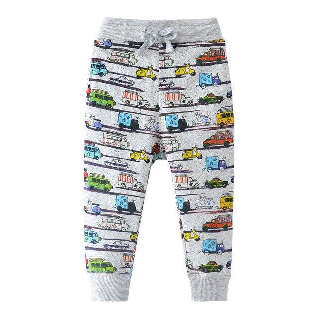 b17232e68 Children boys Sweatpants 2018 new arrival sport full pants baby autumn clothing  trousers pants fashion print kids boy sweatpants