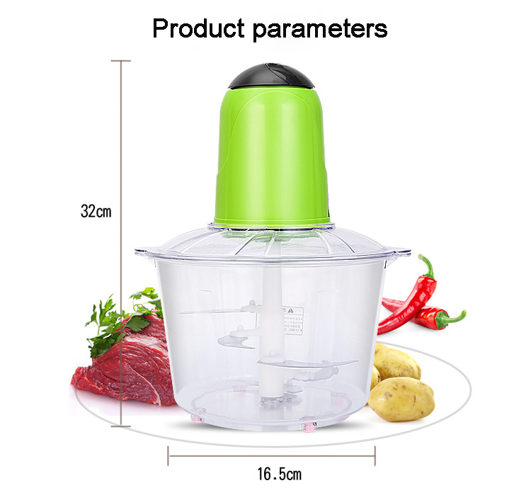 3.5L Large Capacity Electric Meat Grinder Food Chopper Household Vegetable Cutter Blender Automatic Mincing Machine цена