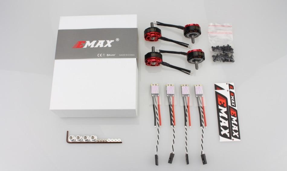 4pcs RS2205 S 2300KV/2600KV CCW Brushless Motor + 4pcs Dshot Bullet 30A ESC for 200 250 FPV Racer RC Drone Quadcopter цена
