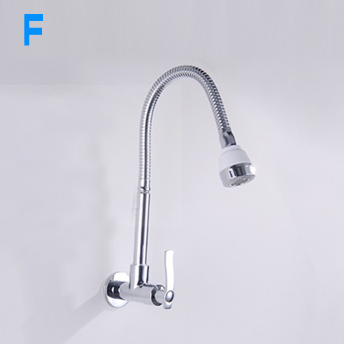 FREE SHIPPING In wall mounted kitchen shower faucet fold expansion Dish basin sink faucet Washing machine