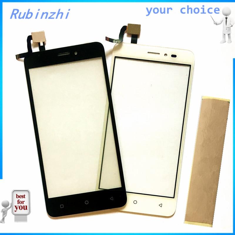 06995f86382 RUBINZHI + 3 m cinta teléfono móvil pantalla táctil de vidrio frontal para  Prestigio zabio G3 PSP3510 DUO digitalizador de pantalla táctil de Sensor  panel ...