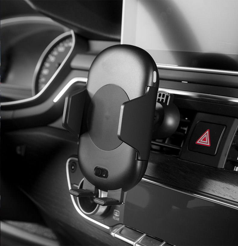 Car phone holder for samsung Galaxy S9 S8 plus note 9 8 Infrared sensor automatic wireless charger for iphone XS MAX XR X