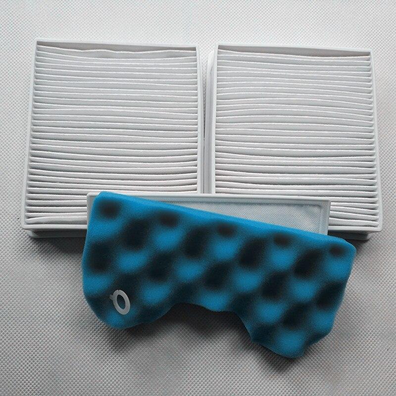 1 ensembles Filtre coton + 2 pcs filtre Adapté pour Samsung VCA-VM HEPA filtre 45 P VM 45 P SC43-47 SC43 SC47 série