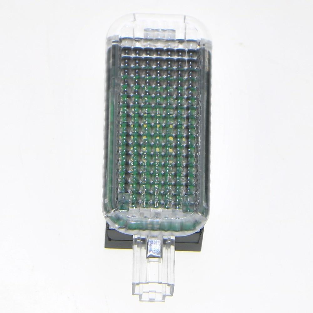 1 Pcs Voiture LED Footwell Lumières Lampe Pour VW Golf Jetta Passat Q3 Q5 Q7 A7 A3 S3 A4 S4 A6 S6 Siège Maigre Exeo Altea Lbiza 3AD 947 409