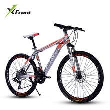 Новый бренд горный велосипед карбоновая стальная рама 24/26 дюймов колеса 27 скорость двойной велосипед с дисковым тормозом Спорт на открытом воздухе горные Bicicleta