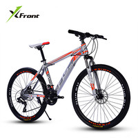 New Brand Mountain Bike Carbon Steel Frame 24 26 Inch Wheel 27 Speed Dual Disc Brake