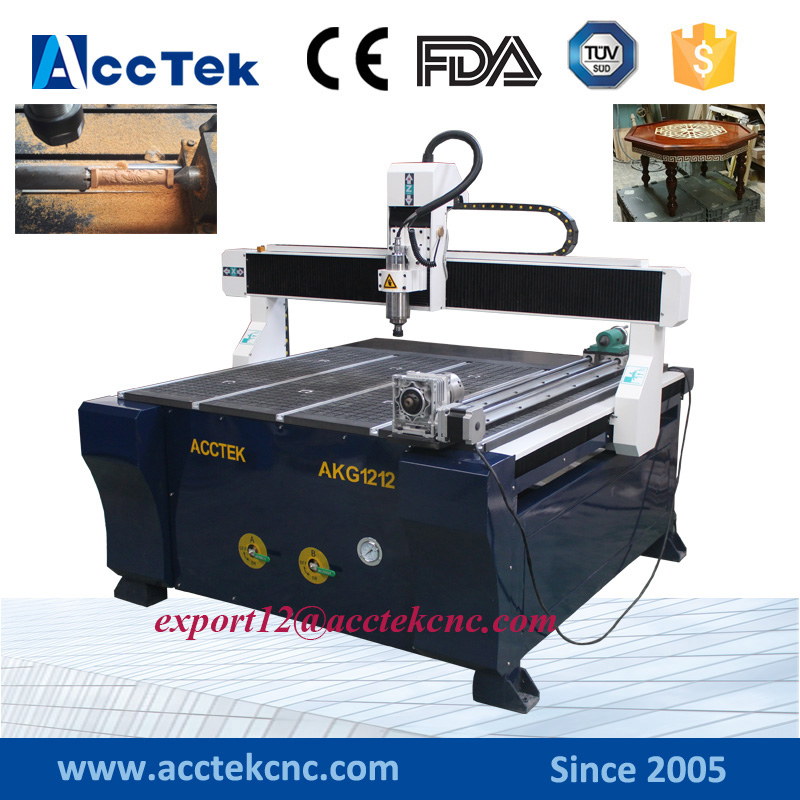 Cheap 4 axis CNC router china price 1200*1200mm cnc engraving machine vacuum table for wood pvc acrylic aluminum