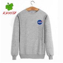 Herbst und winter neue angebote NASA sweatshirt männlichen/weibliche alien qualität baumwolle pullover männer größe s-xxxl