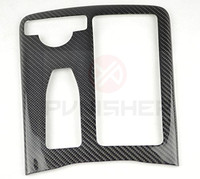 Center Console Carbon Sticker for Mercedes Benz C63 AMG W204 with 3M Tape