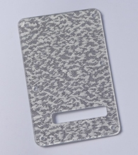 Kaish Silver Sparkle Plastic ST Strat Guitar Tremolo Cover Back Plate for Fender