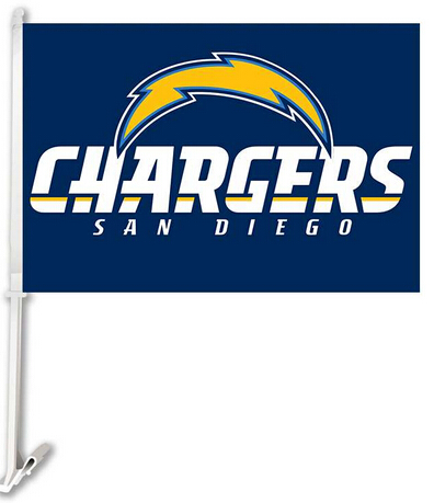30X45CM San Diego Chargers window car Flag car decoration With ...