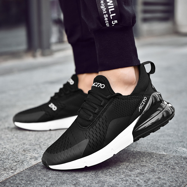 Men Sport Shoes 2018 Brand Running Shoes Breathable Zapatillas Hombre Deportiva 270 High Quality Men Footwear Trainer Sneakers