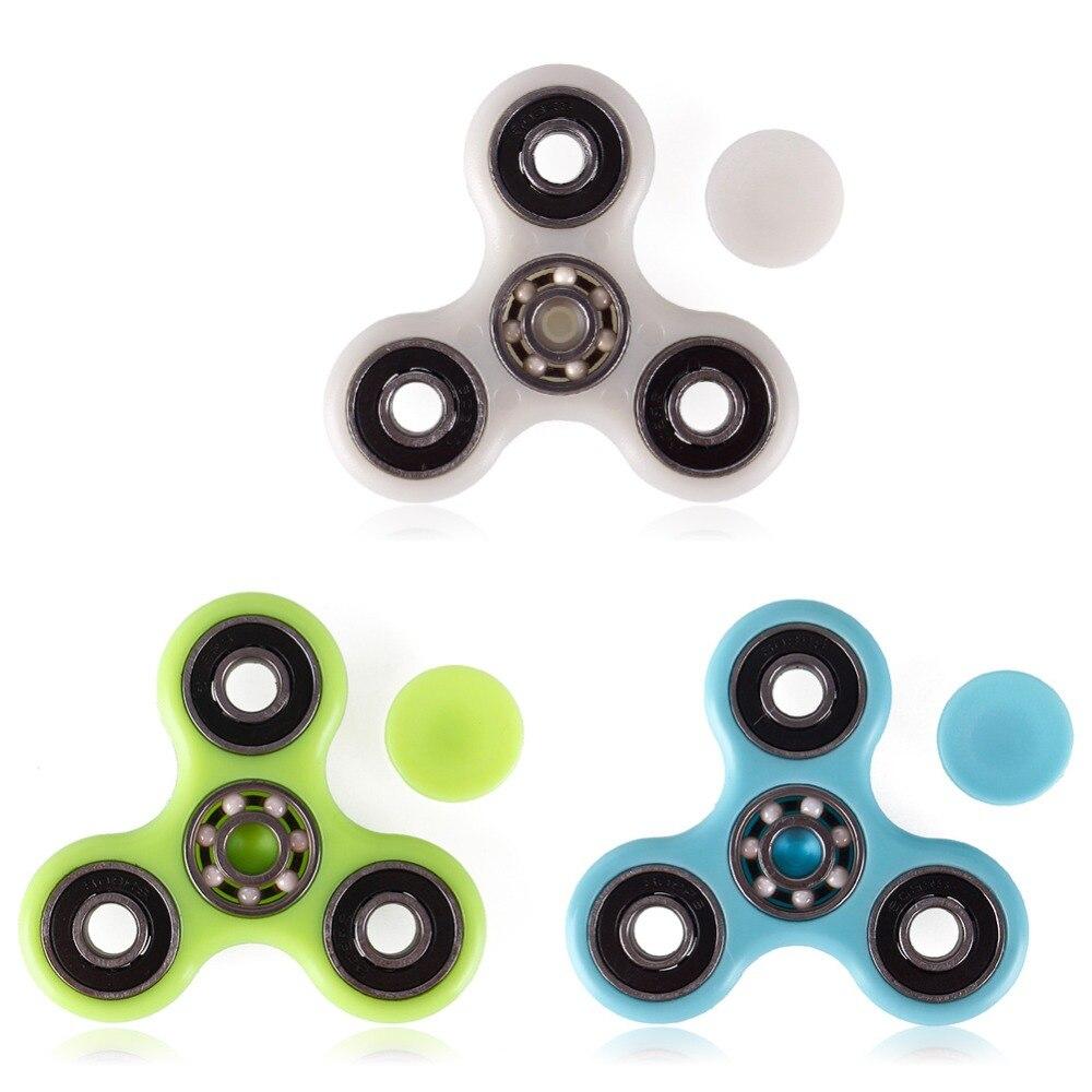 Black Fidget Toy Ceramic Hand spinner finger spinner Figit toy USA SELLER