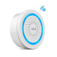 EU Version Z Wave Sound Alarm Siren Sensor Battery Powered Can Be Charged With USB For