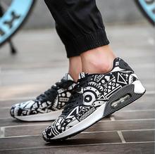 Men Women Casual Shoes Air Mesh Breathable Basket Zapatillas Unisex Walking Flat shoe