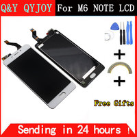 Q Y QYJOY For Meizu M6 Note Touch Screen Digitizer LCD Display For Meizu Note 6