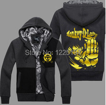 Anime One Piece Monkey Luffy Cosplay Costume Autumn Winter Hoodie