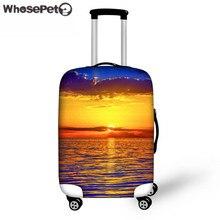 Whosepet путешествия Чемодан защитный чехол для 18-30 дюймов Футляр Чехлы для мангала тележка чемодан strentch упругие пылезащитный