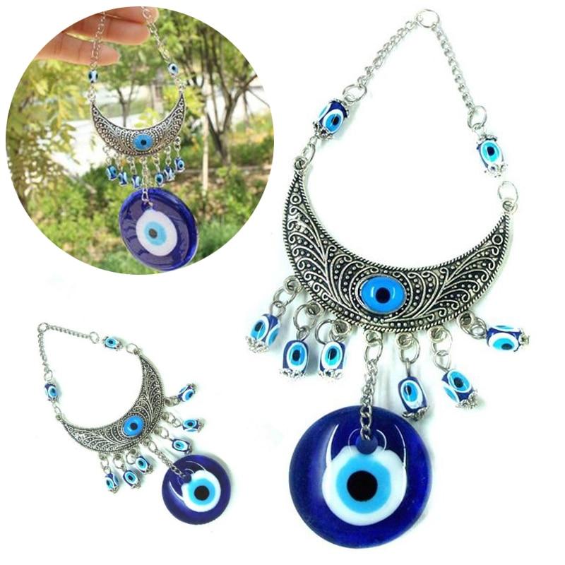 JX LCLYL Wall Hanging Turkish Blue Glass Evil Eye Amulet
