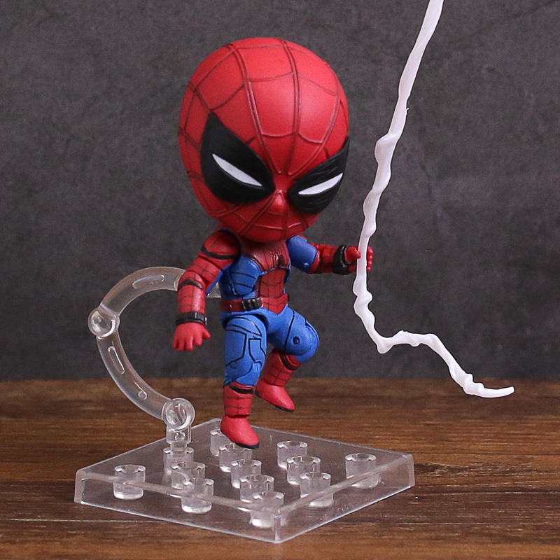 Nendoroid 781 Spiderman Homecoming Edition PVC Action Figure Collectible Model Toy