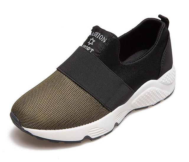 spring 2017 the new mesh cloth shoes, ladies' fashion breathable leisure slip-on shoes, women's shoes, summer shoes women's