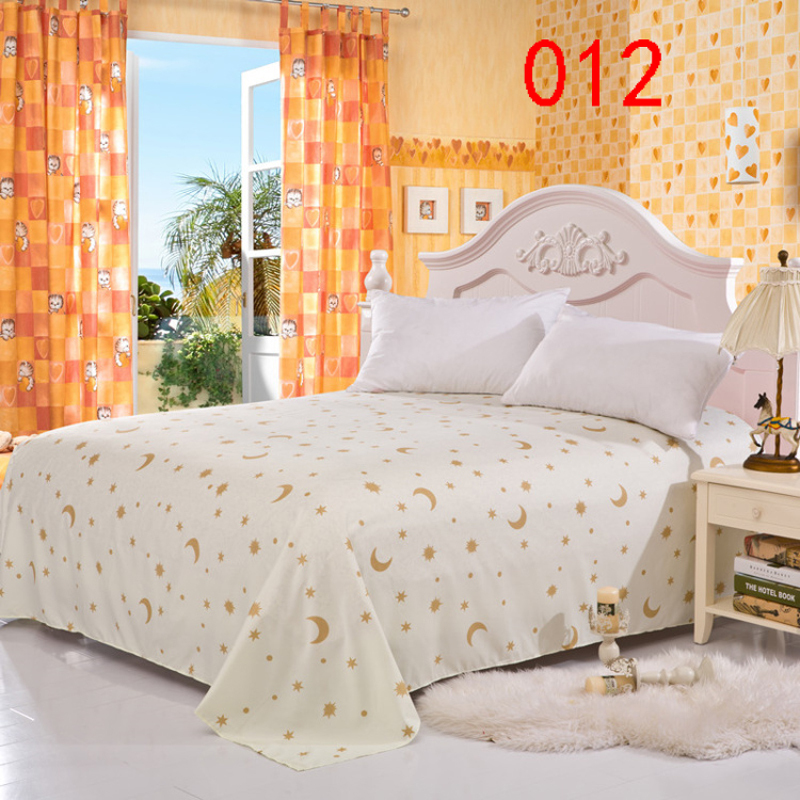 beige moon star polyester twin full queen bed linens bed