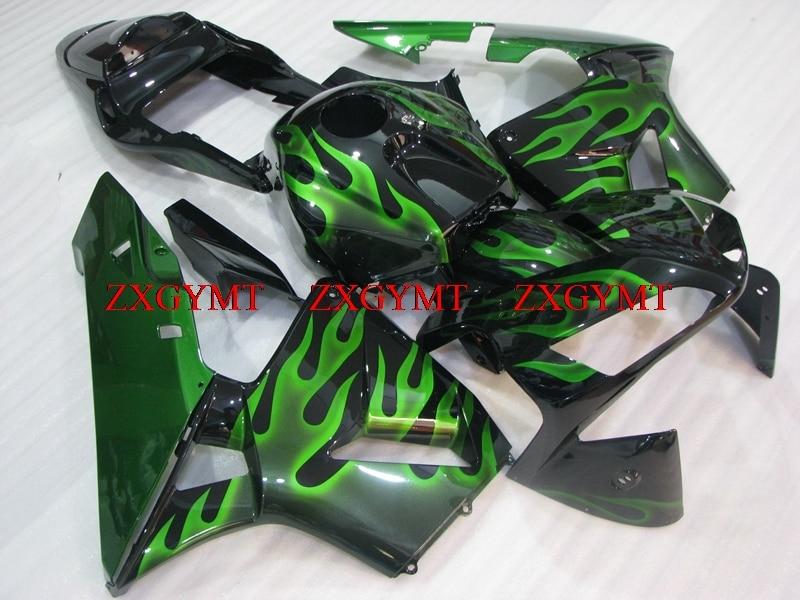 Fairing Kits for CBR 600 RR 2003 - 2004 Full Body Kits CBR 600 RR 2003 Black Green Frame Fairing Kits for Honda CBR600RR 2004Fairing Kits for CBR 600 RR 2003 - 2004 Full Body Kits CBR 600 RR 2003 Black Green Frame Fairing Kits for Honda CBR600RR 2004