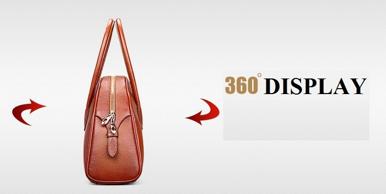 Women Leather Handbags 2016 Vintage Women Purses And Handbags Solid Zipper Shell Bag Women Handbag  Casual Totes Bags Female Bag_322-1