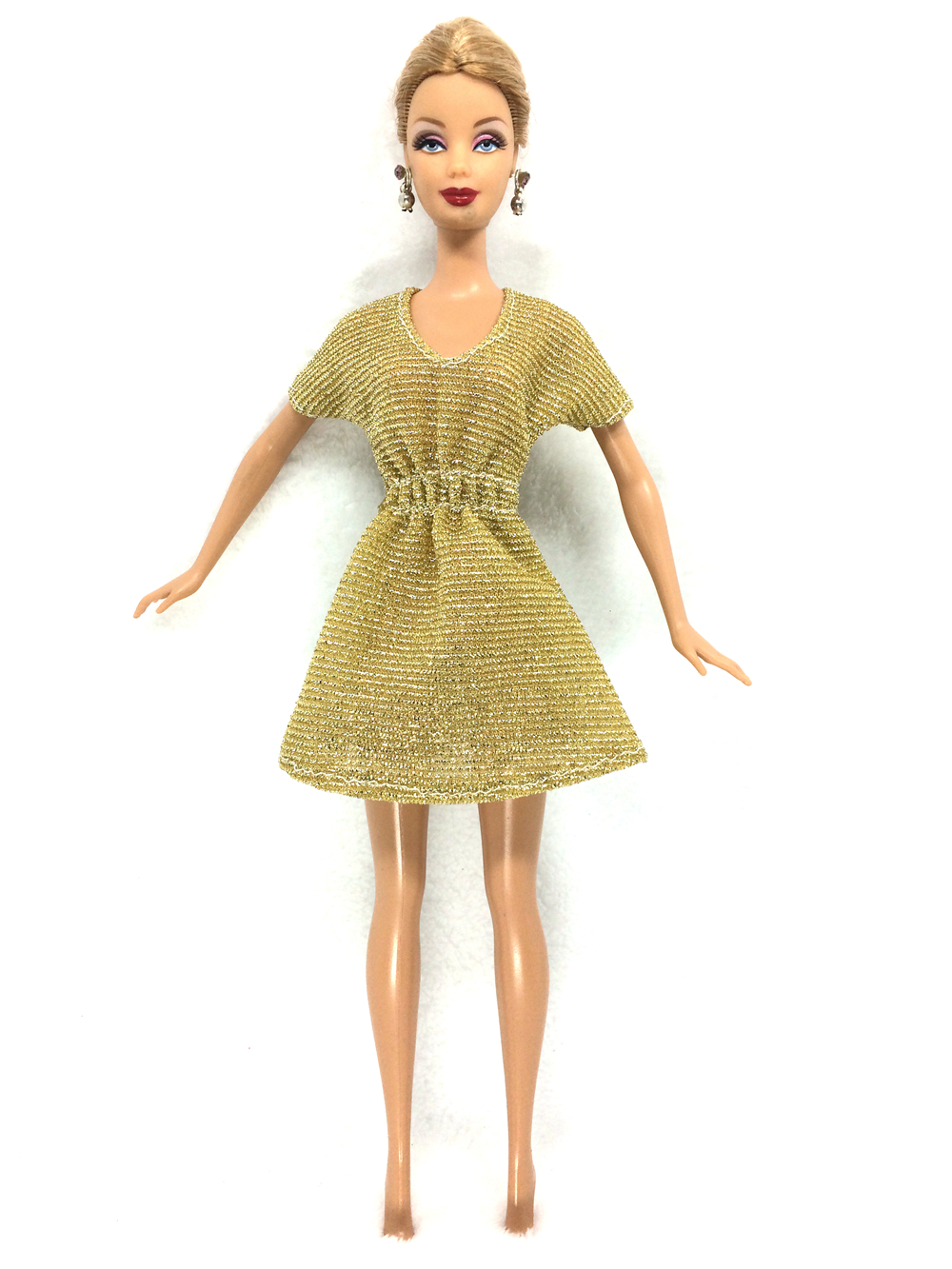 NK 2017 Newest Doll Dress Beautiful Handmade Party ClothesTop Fashion Dress For Barbie Noble Doll Best Child Girls'Gift 059A майка для девочки 28614 059 розовый noble people