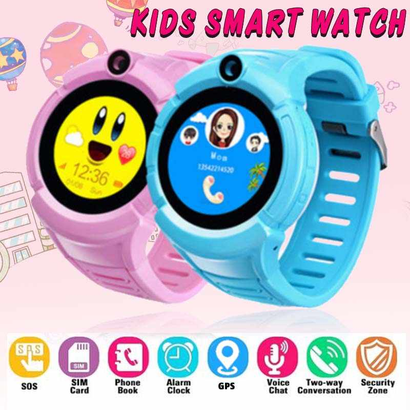 B5 Kids Smart Watch with Camera GPS WIFI Location Child smartwatch SOS Anti-Lost Monitor Tracker baby GPS Watch PK Q528 Q90 DZ09