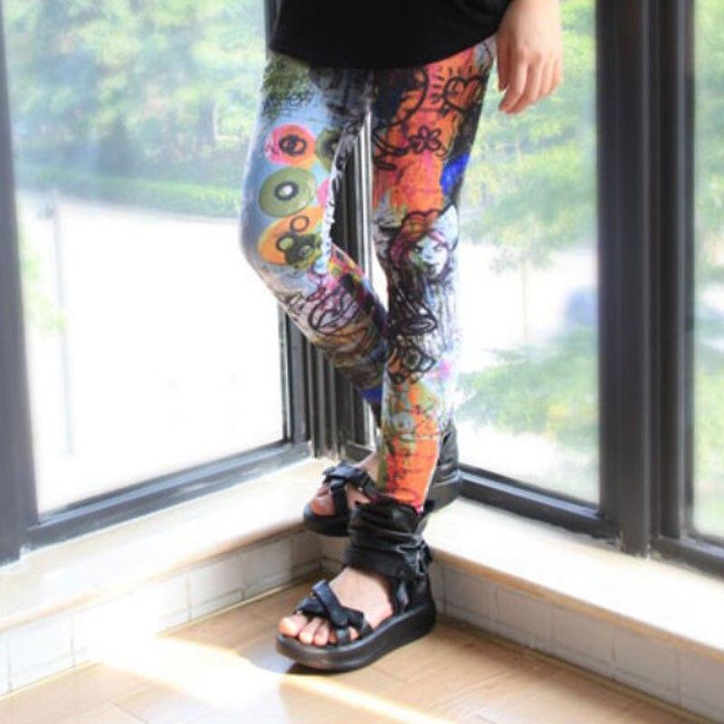 Dorathy Flower Fashion Printing Women Stylish Skinny Fitness Leggings Pants