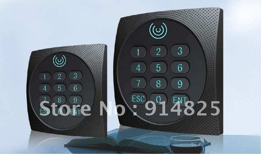 125khz EM-ID access control waterproof keypad wiegand 26 rfid reader IP64 цена