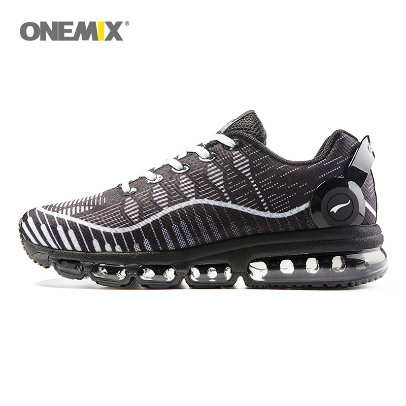 Onemix 2017 men's running shoes sports shoes light air bottom breathable mesh shoes anti-skid outdoor sports shoes EU 39-46 mama heart pattern baby anti skid shoes white light brown