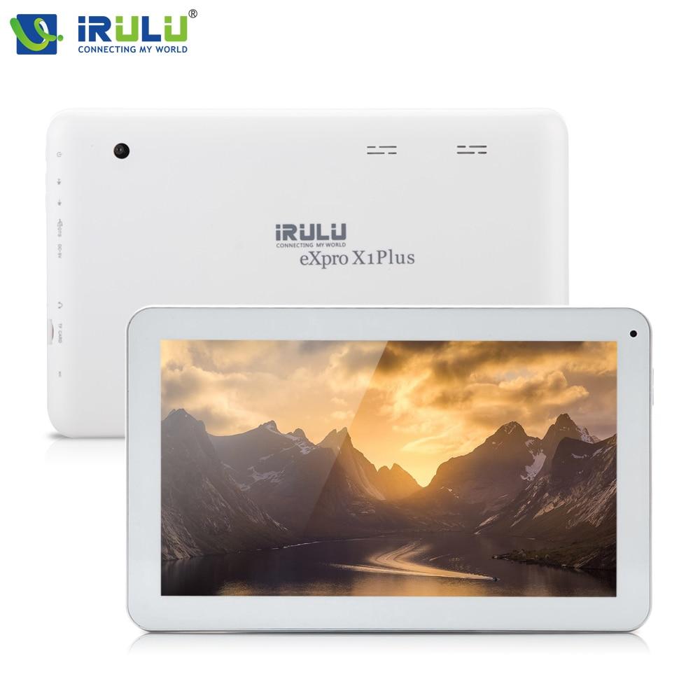 все цены на Original iRULU eXpro X16 Plus 10.1''Tablet Quad Core 1GB 16GB Android 5.1 5500mAh Bluetooth WiFi Dual Cam 2MP LCD Touch Panel