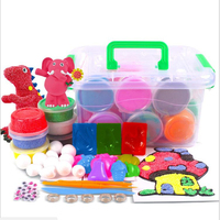 36pcs Set Colors Dynamic Gift Fluffy Slime Light Clay Modeling Polymer Clay Kid Sand Plasticine Hand
