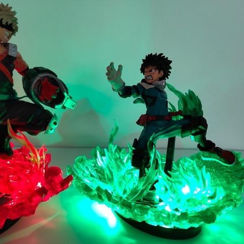 luz da noite boku nenhum heroi academia anime lampada