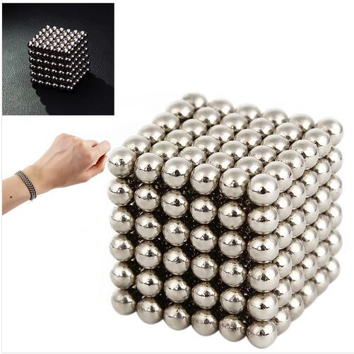 Hot sale New Style 3mm 216pcs Neodymium Magnetic Balls Spheres Beads Magic Cube Magnets Puzzle Birthday Present Children Gift