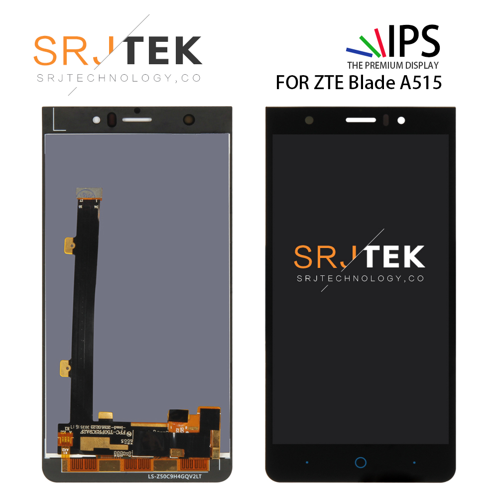 SRJTEK LCD For ZTE Blade A515 Display Screen for ZTE A511 A515 A513 LCD Touch Digitzer Glass Sensor Matrix Assembly ReplacementSRJTEK LCD For ZTE Blade A515 Display Screen for ZTE A511 A515 A513 LCD Touch Digitzer Glass Sensor Matrix Assembly Replacement