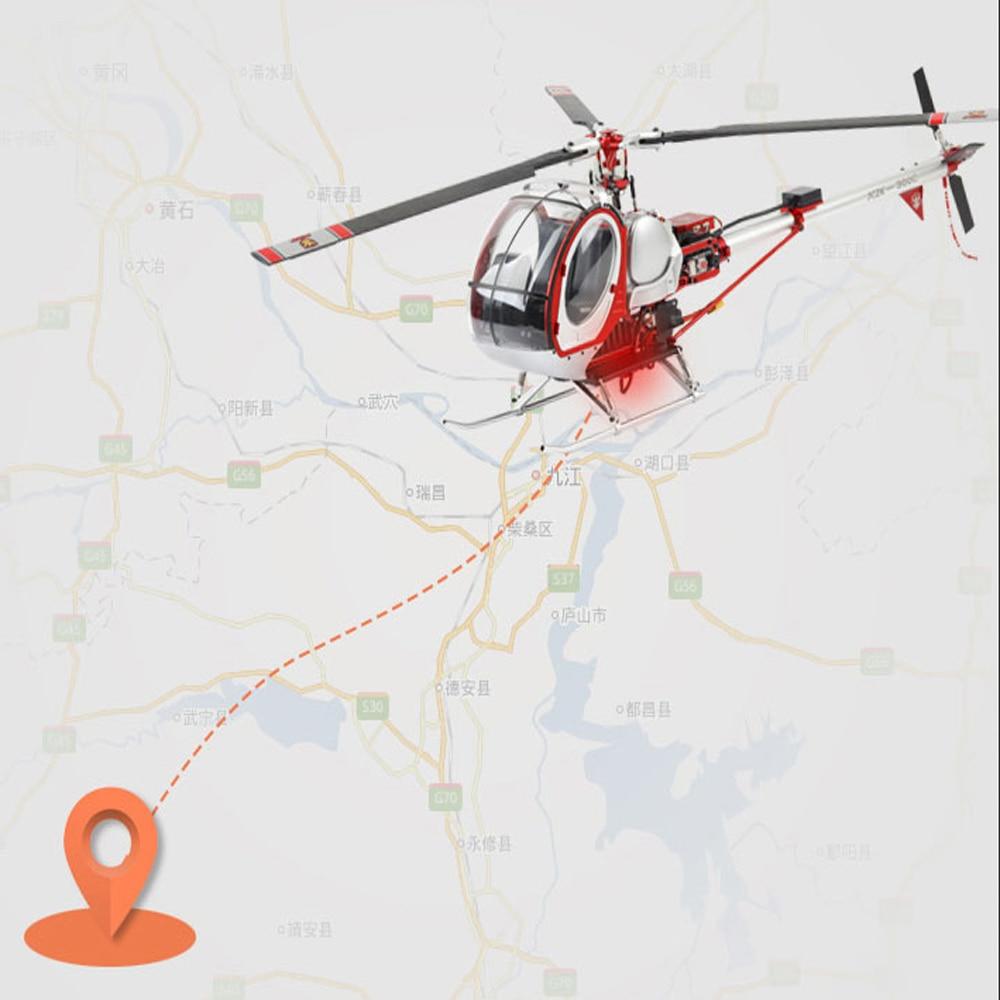 SCHWEIZER 300C Hughes Smart 6CH RC вертолет gps RTF пульт дистанционного управления Вертолет Металл Высокая симуляция самолета RC модель игрушки - 6