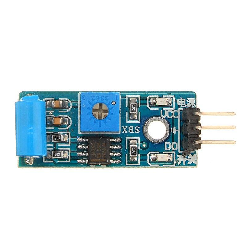 SW-420 датчик вибрации для Arduino цифровой наклон встряхнуть датчик удара модуль движения сигнализации переключатель детектор электронный DIY ко...