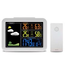 Метеостанция, атомной Беспроводной метеостанция с будильник, звуковым сигналом, Indoor/Outdoor Температура/Влажность (PT7002W)